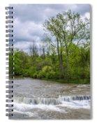Northrup Road Waterfalls 2158 Spiral Notebook