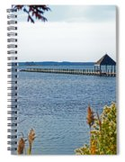 Northside Park Fishing Pier Spiral Notebook