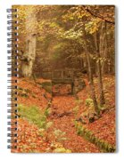 Northumberland, England  A Creek Spiral Notebook