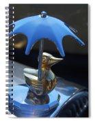 Northwest Roadster Hood Ornament Spiral Notebook