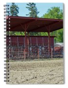 Northwest Rodeo Time Spiral Notebook