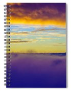 Northwest Sunrise Cloudscape Spiral Notebook
