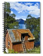 Norwegian Barn House Spiral Notebook
