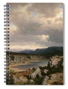 Norwegian Highlands Spiral Notebook