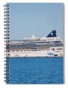 Norwegian Jade Cruise Ship Corfu Spiral Notebook