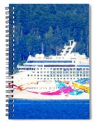 Norwegian Jewel Cruise Ship Spiral Notebook