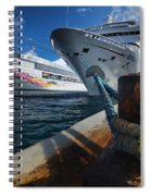 Norwegian Sky Carnival Sensation And Royal Caribbean Majesty Spiral Notebook