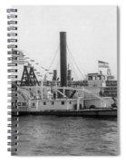 Norwich Steamboat, C1909 Spiral Notebook