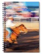 Norwood Colorado - Cowboys Ride Spiral Notebook