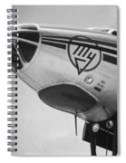 Nose Tu-114 Rossiya Spiral Notebook