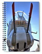 Nose Turret Spiral Notebook