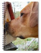 Nosey Spiral Notebook