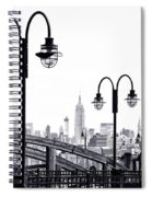 Nostalgia-liberty State Park Spiral Notebook
