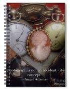 Nostalgia Quote Spiral Notebook