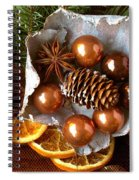 Nostalgic Christmas  Spiral Notebook