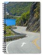 Not A Straight Path Spiral Notebook