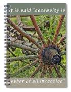 Not Older Than Dirt Birthday Card Spiral Notebook