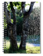 Not Raining Over Here Spiral Notebook