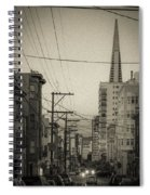 Not So Old San Francisco Spiral Notebook