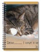 Not Tonight Dear ... Spiral Notebook