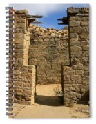 Notched Doorway Spiral Notebook