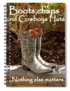 Nothing Else Matters Spiral Notebook