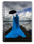 Nothing Is Ours But Time  Spiral Notebook