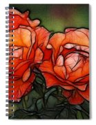 Nothing Sweeter Than A Rose Spiral Notebook
