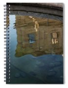 Noto's Sicilian Baroque Architecture Reflected Spiral Notebook