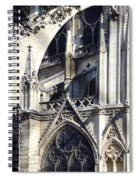 Notre Dame Cathedral Architectural Details Spiral Notebook