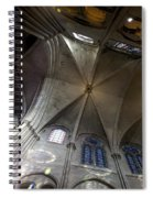 Notre Dame Ceiling South Spiral Notebook