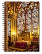 Notre Dame Chapel Spiral Notebook