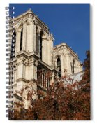 Notre-dame De Paris - French Gothic Elegance In The Heart Of Paris France Spiral Notebook