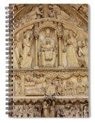 Notre Dame Detail Spiral Notebook