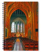 Notre Dame Of Luxembourg Spiral Notebook