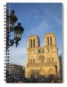 Notre Dame Tourists Spiral Notebook