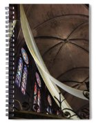 Notre Dame With Cream Swag Spiral Notebook