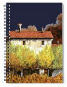 Notte In Campagna Spiral Notebook