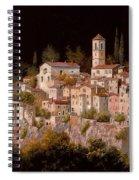 Notte Senza Luna Spiral Notebook