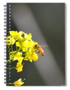 Nourished By Nature Spiral Notebook