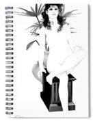 Nouveau Beauty Spiral Notebook