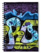 Nouveau Graffiti Spiral Notebook