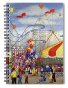 Novelties At The Carnival Spiral Notebook