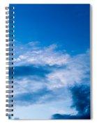 November Clouds 002 Spiral Notebook