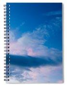 November Clouds 005 Spiral Notebook