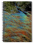 November Impression By Jrr Spiral Notebook