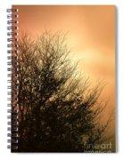 November Memories Spiral Notebook