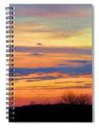 November Panorama Spiral Notebook