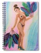 November Peacock Spiral Notebook