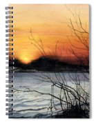 November Sunset Spiral Notebook